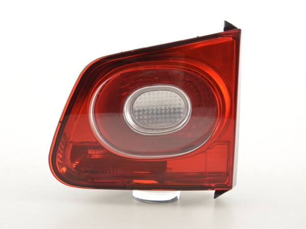 Spare parts taillight right VW Tiguan (5N) Yr. 07-11 red/clear