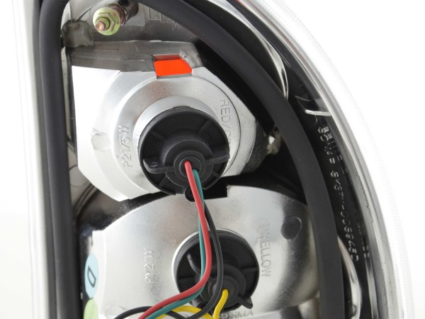 Taillights Opel Corsa B 5-dr. Yr. 93-00 chrome