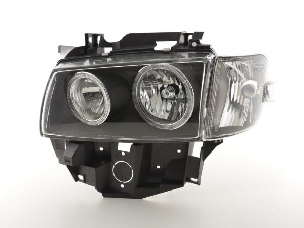 Angel Eye headlight VW Bus type T4 Yr. 97-02 black