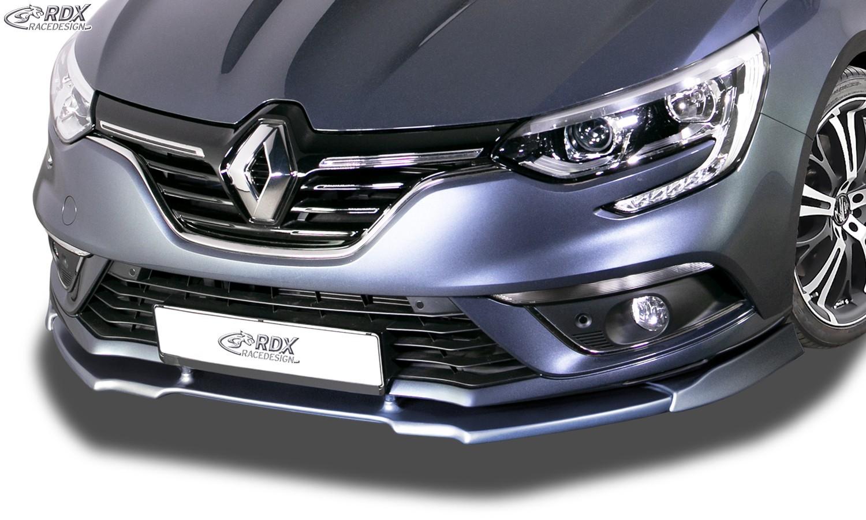 Rdx Front Spoiler Vario X Renault Megane 4 Sedan Grandtour Front Lip Splitter Lips Bumpers Exterior Car Tuning Tuning Parts24 Com