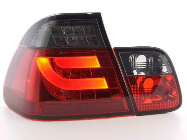 Led Taillights BMW serie 3 E46 saloon Yr. 98-01 red/black