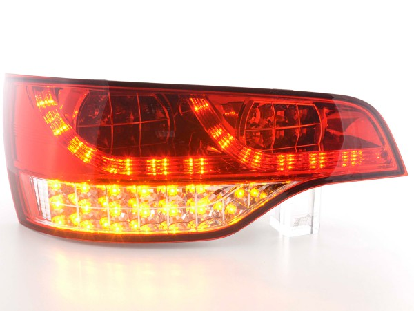 Led Taillights Audi Q7 type 4L Yr. 06- clear/red