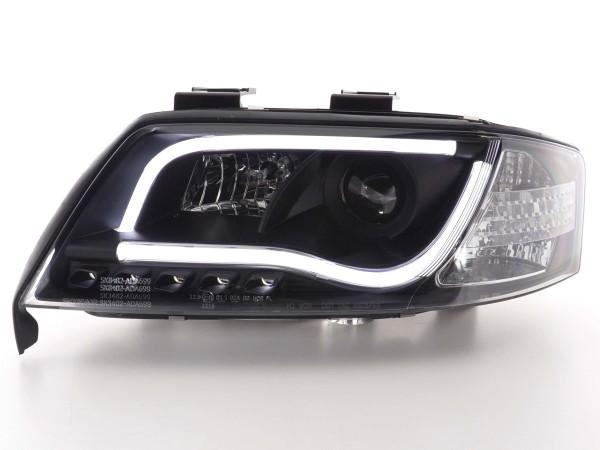 Daylight headlight Set Audi A6 type 4B Yr. 97-01 black