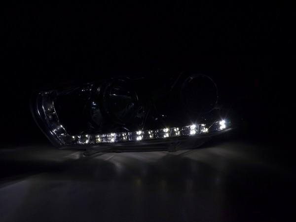 Daylight headlight VW Scirocco 3 type 13 Yr. 08- chrome RHD
