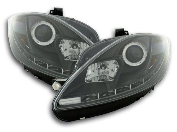 Daylight headlight Seat Leon 1P Yr. 09- black
