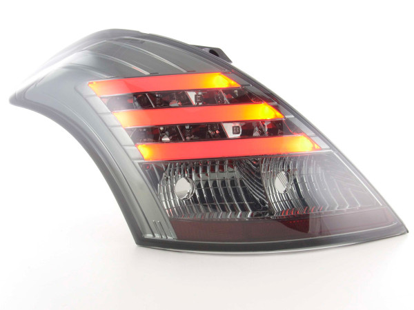 Led Taillights Suzuki Swift Yr. 2011- black