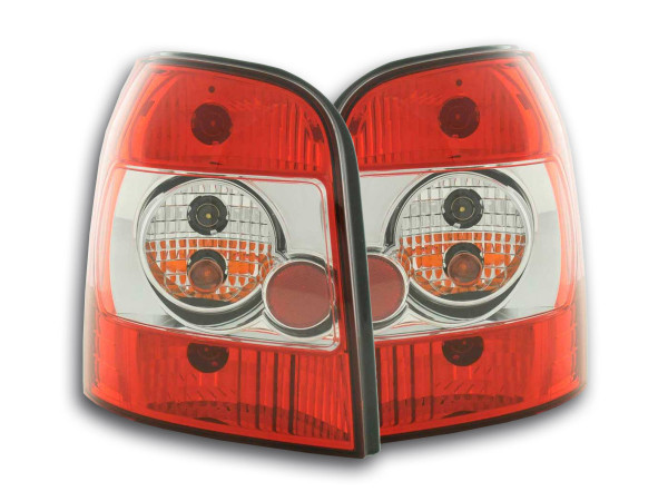 Taillights Audi A4 Avant type B5 Yr. 95-00 red white