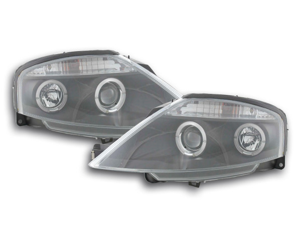 headlight Citroen C3 Yr. 02-08 black