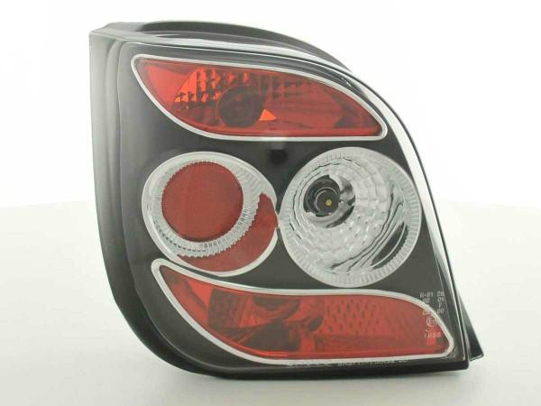 Taillights Ford Fiesta 3-dr. type MK3 Yr. 92-95 black