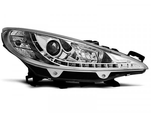 Peugeot 207 05.06-06.12 Daylight Chrome W/motor
