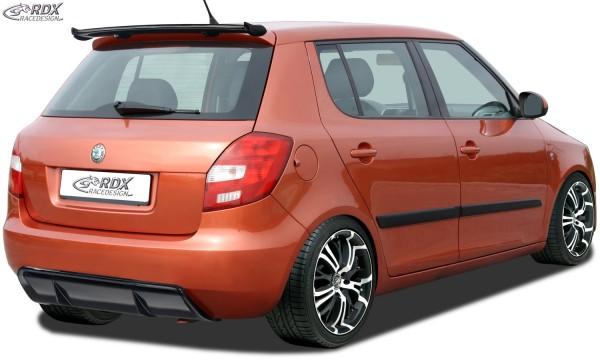 RDX rear bumper extension SKODA Fabia 2 / 5J Diffusor