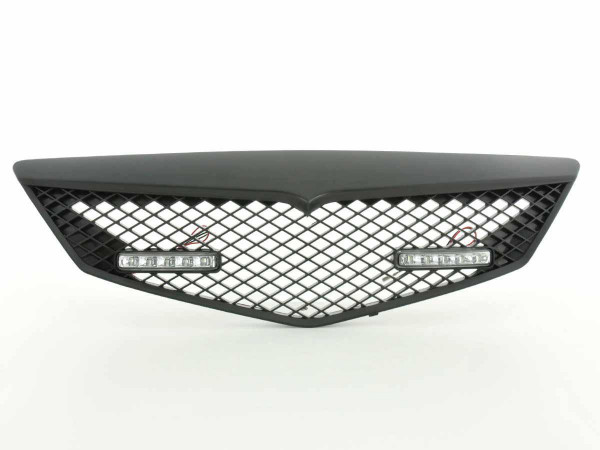 Sportgrill with position light Mazda 2 Typ DY Yr. 03-07 black