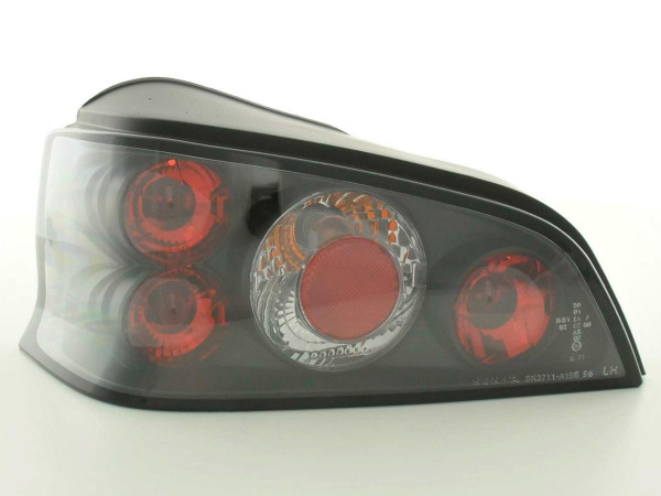 Taillights Peugeot 106 type 1C 1A Yr. 96-03 black