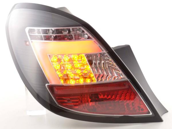 Taillights Set LED Opel Corsa D 5-dr Yr. 06-10 black