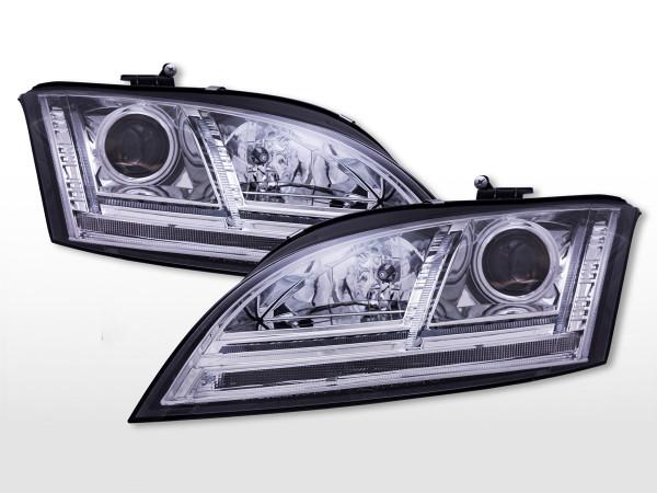 Daylight Scheinwerfer mit LED Standlicht Audi TT (8J) 2006-2011 chrom