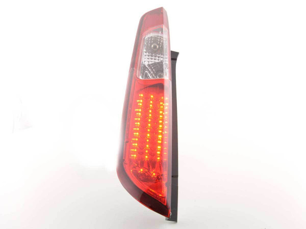 Led Taillights Ford Focus 2 5-dr Yr. 08-10 red/clear