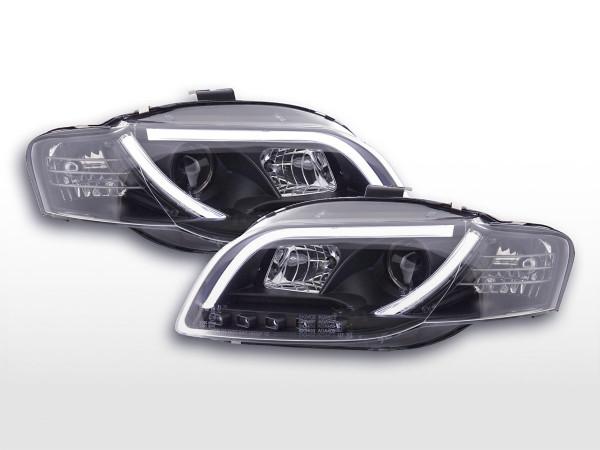 Daylight Headlight Audi A4 type 8E Yr. 05-07 black RHD