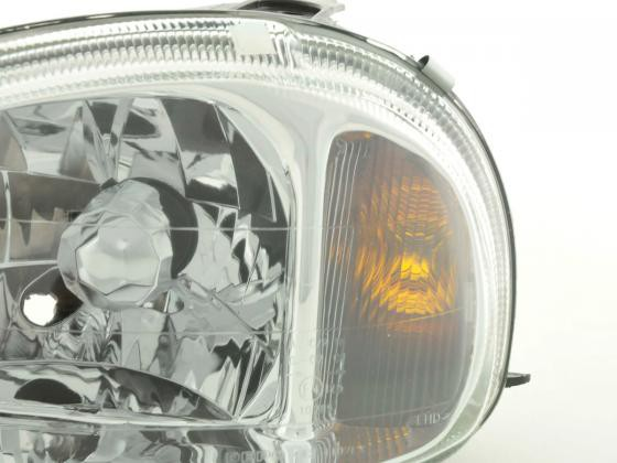Spare parts headlight left Opel Corsa B Yr. 99-00