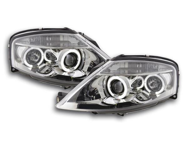 headlight Citroen C3 Yr. 02-08 chrome