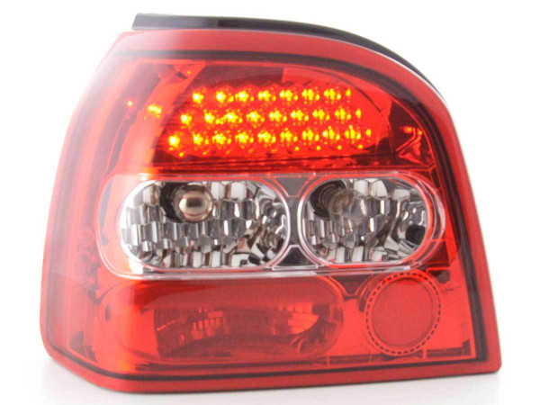 Led Rear lights VW Golf 3 type 1HXO Yr. 92-97 clear/red