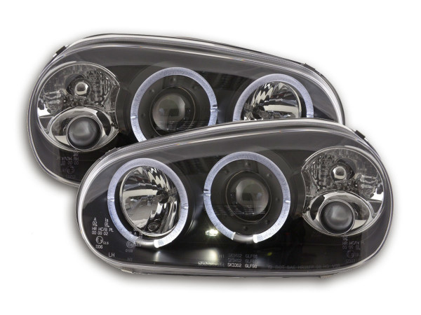 headlight VW Golf 4 type 1J Yr. 98-03 black