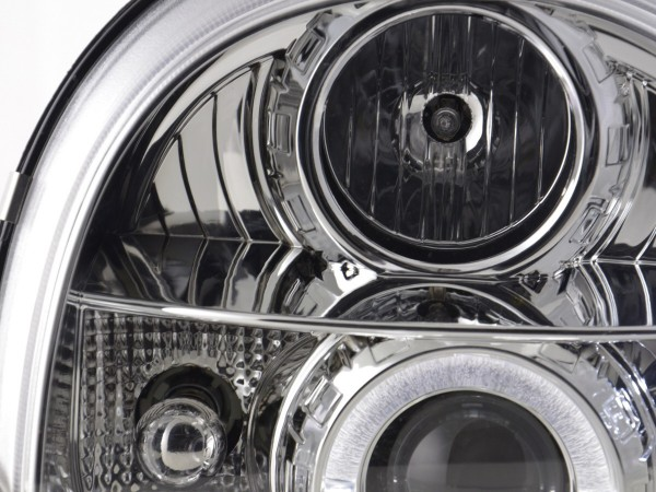 headlight Renault Twingo Yr. 93-00 chrome