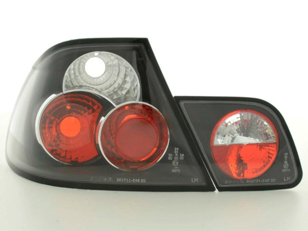 Taillights BMW serie 3 Coupe type E46 Yr. 97-02 black