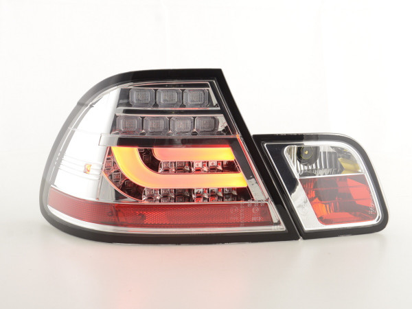 Taillights LED BMW serie 3 E46 Coupe Yr. 03-07 chrome