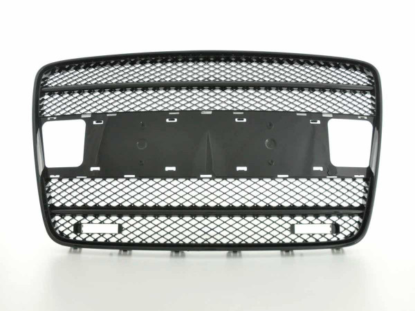 Sportgrill with position light Audi Q7 Typ 4L Yr. 05-09 black
