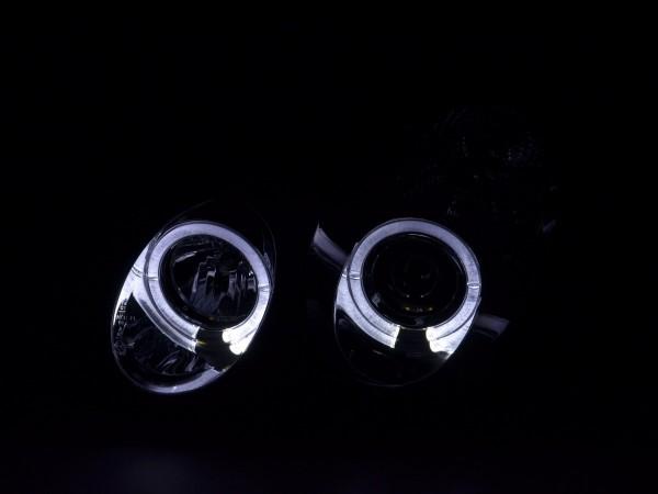 Headlight Mercedes C-Classe type W203 Yr. 00-07 chrome RHD
