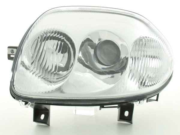 Spare parts headlight left Renault Clio (type B) Yr. 98-01