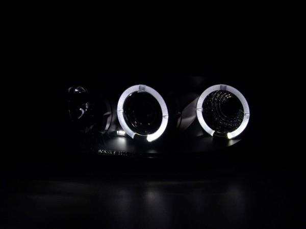 headlight Ford Escort MK6 Yr. 95-04 black