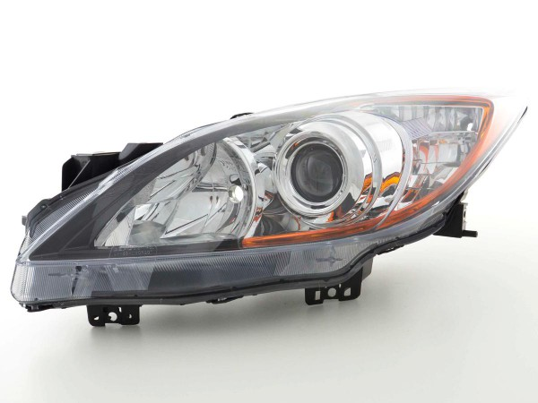 Spare parts headlight left Mazda 3 (BL) Yr. 09-, black