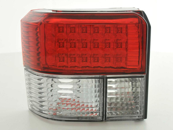 Led Taillights VW Bus T4 type 70.. Yr. 91-04 red/white