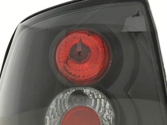 Taillights Opel Astra G Yr. 98-03 black