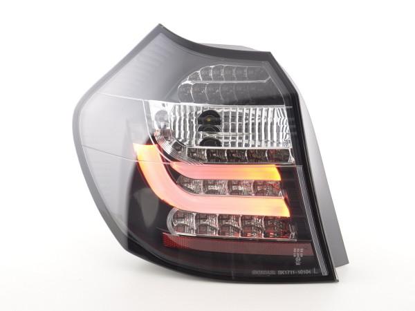 Led Taillights BMW serie 1 E87/E81 3/5-Dr. Yr. 07-11 black