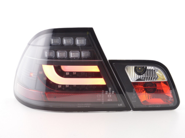 Led Taillights BMW serie 3 E46 Coupe Yr. 99-02 black