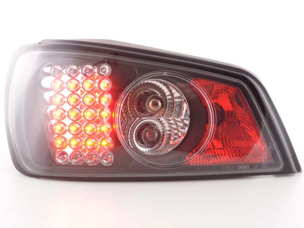 Led Taillights Peugeot 306 3/5 dr. Yr. 97-00 black