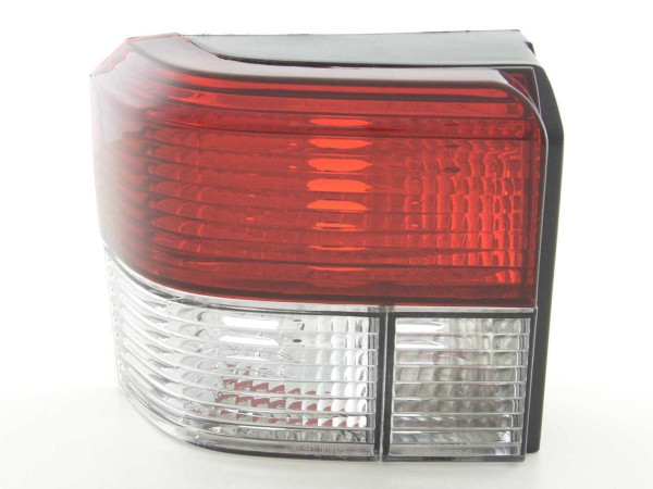 Taillights VW Bus T4 type 70.. Yr. 91-04 clear red