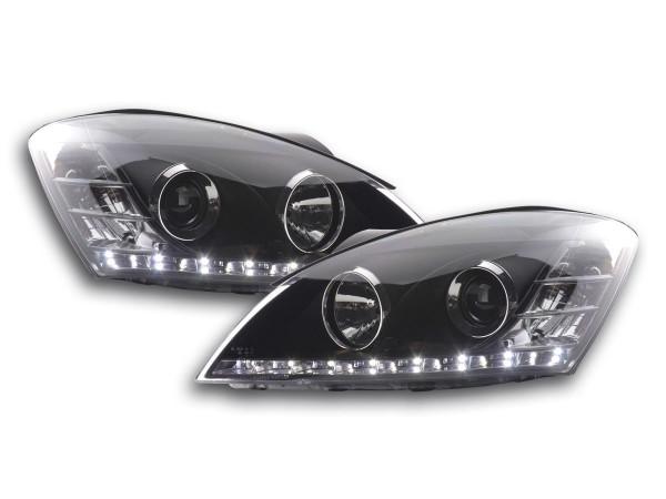 Daylight headlight Kia cee'd 5-door. type ED Yr. 06-09 black