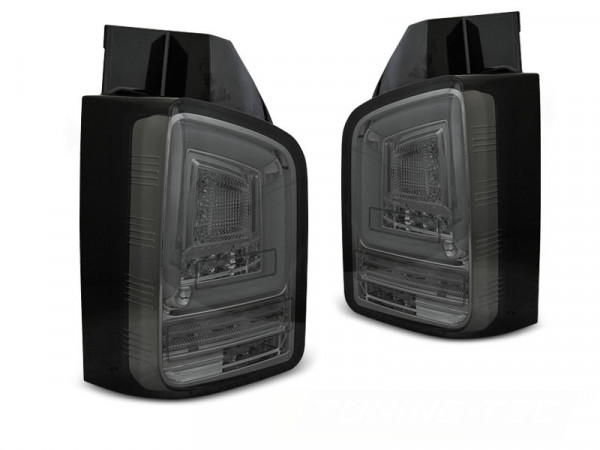 Led Bar Tail Lights Smoke Seq Fits Vw T6 15-19 Tr