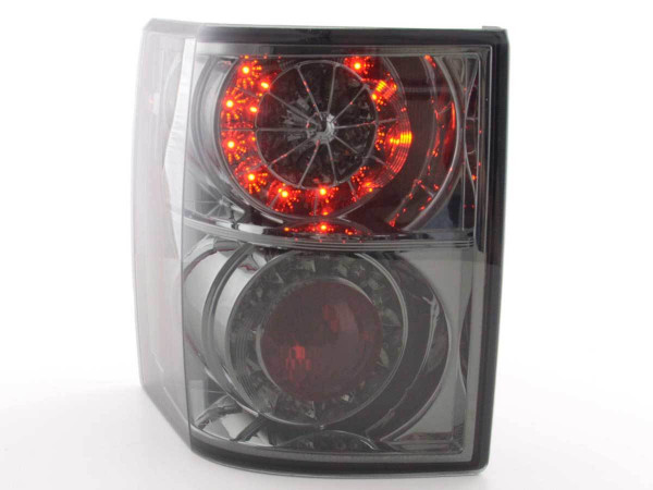 Led Taillights Land Rover Range Rover black with Led indicator