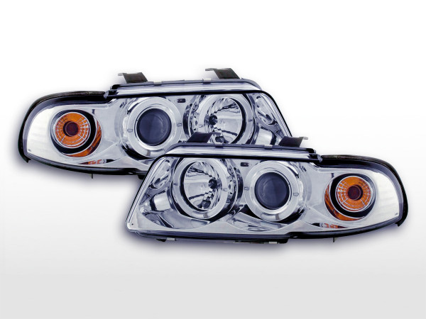 headlight Audi A4 type B5 Yr. 99-01 chrome