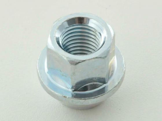 Wheel nut M14 x 1,5 34mm short head silver