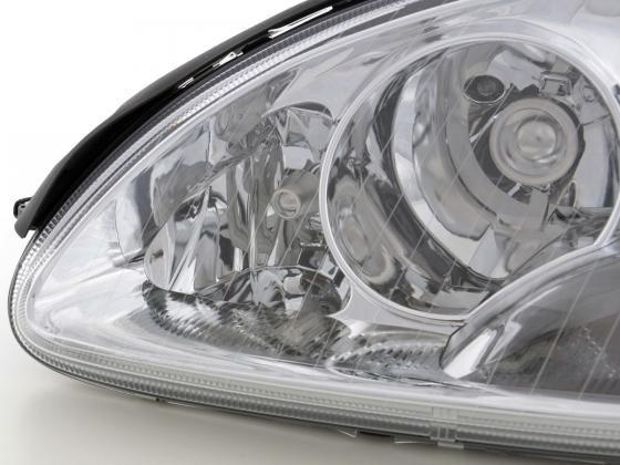 headlight Mercedes S-Classe type W220 chrome
