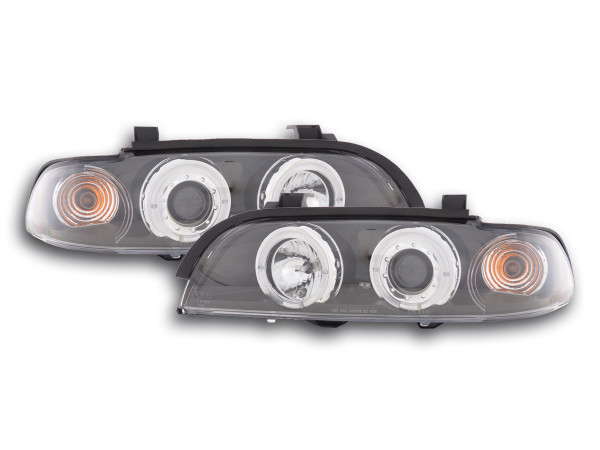 headlight BMW serie 5 type E39 Yr. 95-00 black