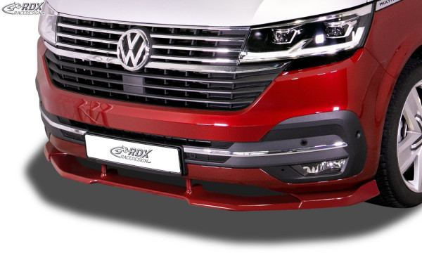 RDX Front Spoiler VARIO-X for VW T6.1 (for painted and unpainted bumper) Front Lip Splitter