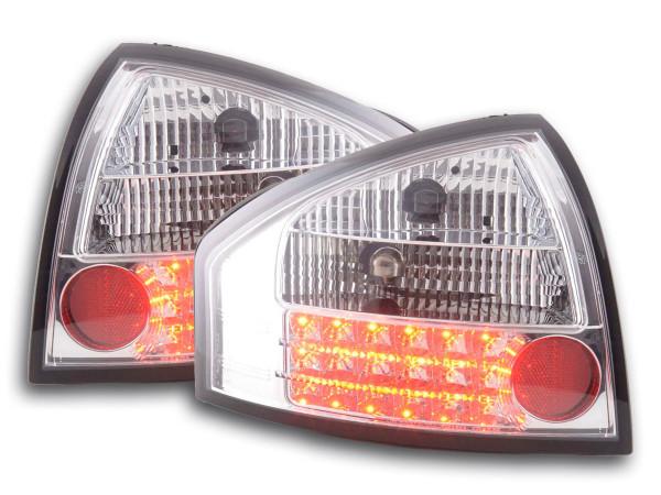 Led Rear lights Audi A6 saloon type 4B Yr. 97-03 chrome