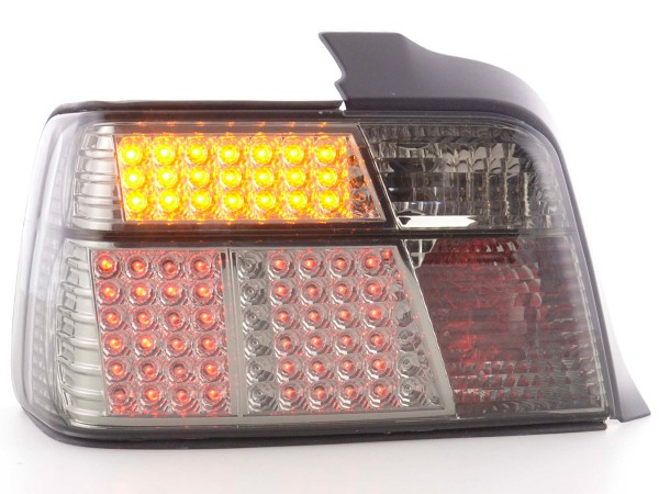 Led Rear lights BMW serie 3 saloon type E36 Yr. 91-98 black/red