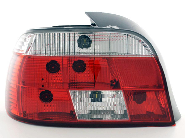 Taillights BMW serie 5 E39 saloon Yr. 95-00, chrome